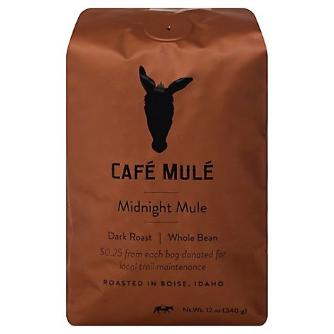 Cafe Mule Midnight Mule Dark Wb - 12 Oz