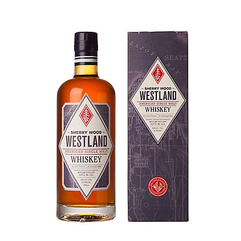 Westland Whiskey American Single Malt Sherry Wood - 750 Ml