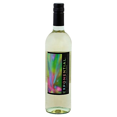 Exponential Pinot Grigio White Wine - 750 Ml
