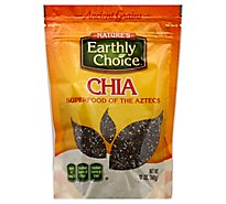 Natures Earthly Choice Seeds Chia Org - 12 Oz