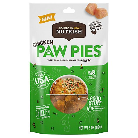 Rrn Chk Paw Pie Dog - 3 Oz