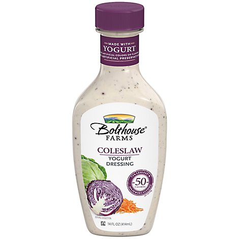 Bolthouse Coleslaw Yogurt Dressing - 14 Fl. Oz.