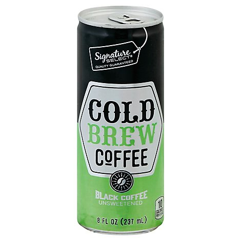 Signature Select Coffee Cold Brew Black Unswtnd - 8 Fl. Oz.