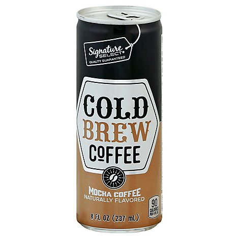 Signature Select Coffee Cold Brew Mocha - 8 Fl. Oz.