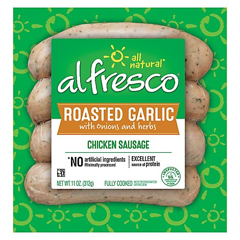Al Fresco Garlic Chicken Sausage - 11 Oz