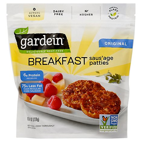 Gardein Sausage Breakfast Patties - 8 Oz