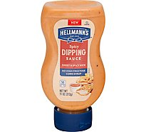 Hellmanns Dipping Sauce Spicy - 11 Oz
