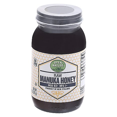 Open Nature Honey Manuka - 8 Oz
