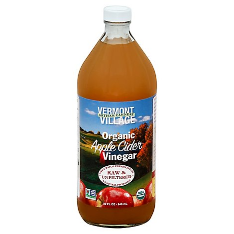 Vt Vlge Artsn Cnry Vinegar Apple Cider - 32 Fl. Oz.