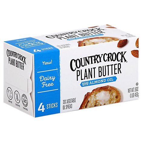 Country Crock Plant Butter Almond Spread - 1 Lb