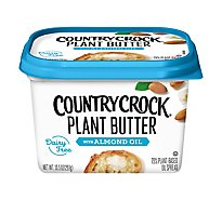 Country Crock Plant Almond Butter - 10.5 Oz