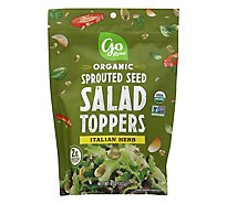 Go Raw Organic Sprouted Seed Salad Toppers Italian Herb - 4 Oz