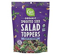 Go Raw Organic Sprouted Seed Salad Toppers Garlic Thyme - 4 Oz