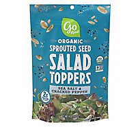Go Raw Organic Sprouted Seed Salad Toppers Sea Salt & Cracked Pepper - 4 Oz
