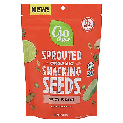 Spicy Fiesta Snacking Seeds - 4 Oz