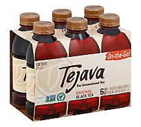 Tejava Tea Black Unsweetened Original - 6-16.9 Fl. Oz.