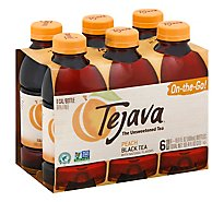 Tejava Peach Black Tea - 6-16.9 Fl. Oz.