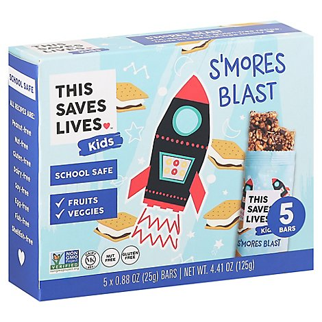 This Bar  Bar Grnla Smores Blst - 4.41 Oz