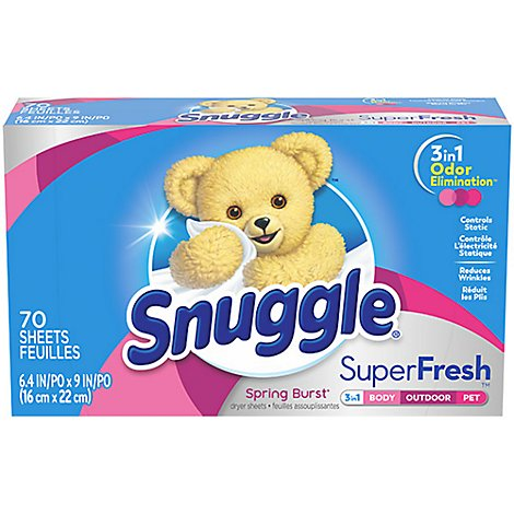 Snuggle Plus Frsh Spring Burst - 70 Count