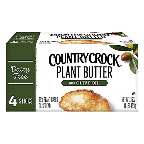Country Crock Plant Butter Olive Spread - 1 Lb