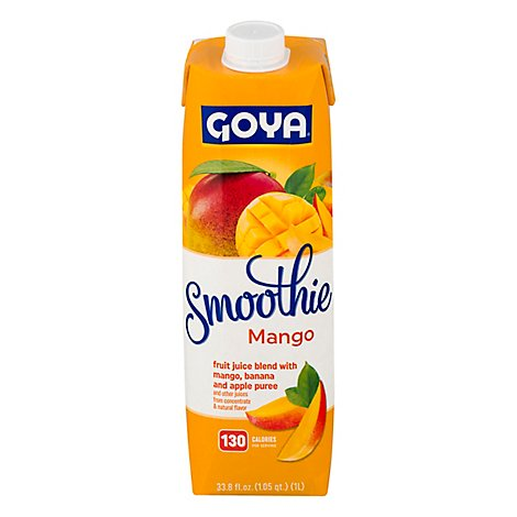 Goya Smoothie Mango - 33.8 Fl. Oz.