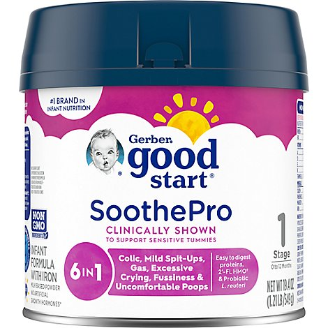 Gerber Good Start Soothe Formula - 19.4 Oz