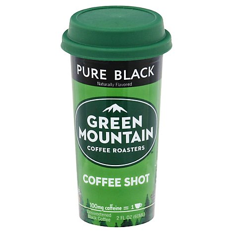 Green Mountain Coffee Shot Pure Black - 2 Fl. Oz.