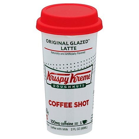 Krispy Kreme Coffee Shot  Original Glaze Latte - 2 Fl. Oz.