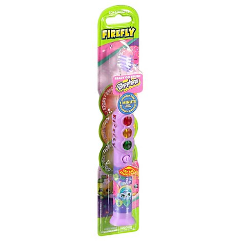 Firefly Ready Go Shopkins Toothbrush - Each