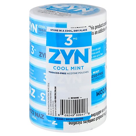 Zyn Cool Mint 3mg - Carton
