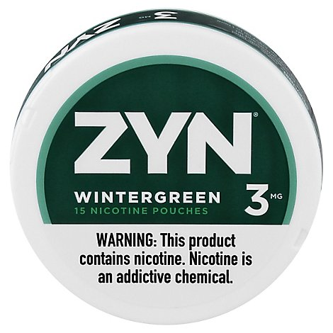 Zyn Wintergreen 3mg - Carton