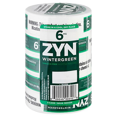 Zyn Wintergreen 6mg - Carton