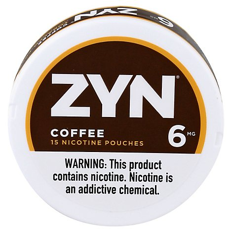 Zyn Coffee 6mg - Carton