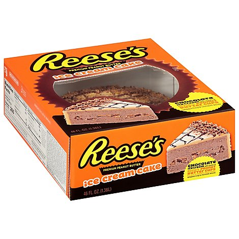 Reeses Peanut Butter Ice Cream Cake - 46 Fl. Oz.