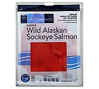 waterfront BISTRO Salmon Wild Alaskan Sockeye Smoked Cold - 4 Oz