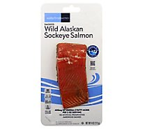 Waterfront Bistro Salmon Wild Alaska Sockeye Hot Smoked - 4 Oz