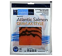 waterfront BISTRO Salmon Gravlax Style Smoked - 4 Oz