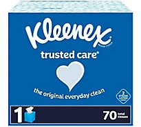 Kleenex Facial Tissue Upright White 70 Fsc Mix Sgsna-Coc-005460 - 70 Count