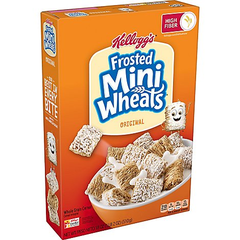 Frosted Mini-Wheats Breakfast Cereal Original - 18 Oz