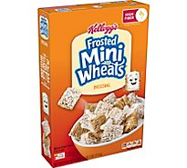 Kelloggs Frosted Mini-Wheats Bite Size - Each