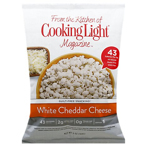 Cooking Light White Cheddar Popcorn - 6 Oz