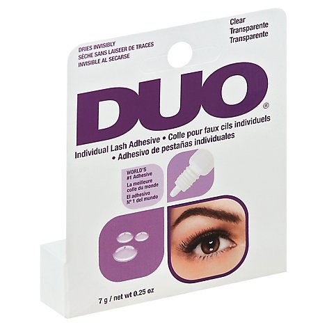 Aii Duo Adhesive Individual Clear - Each