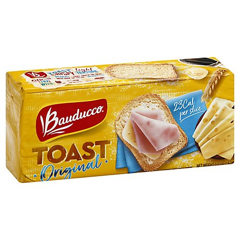 Bauducco Toast Original - 5.01 Oz