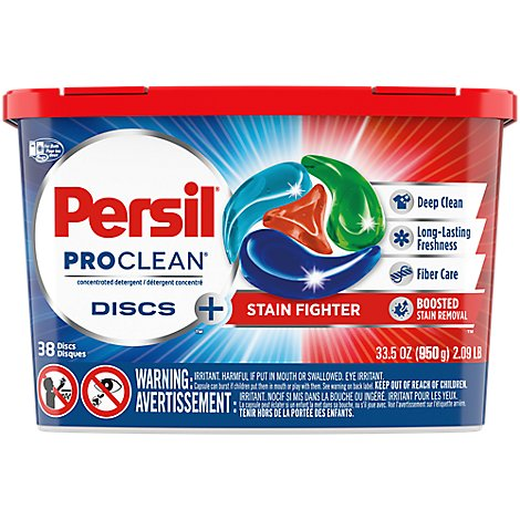 Persil Proclean Discs Stain Fighter - 38 Count