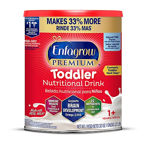 Enfagrow Premium Toddler Next Step Natural Milk Powder - 32 Oz