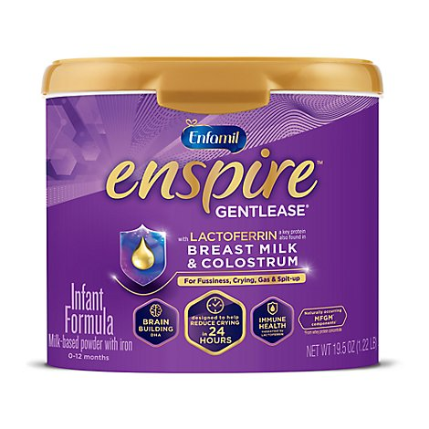 Enfamil Enspire Gentlease Infant Formula Milk Powder - 19 ...
