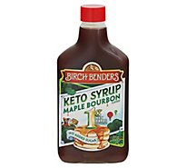 Birch Benders Monk Fruit Sweetened Pancake Syrup Maple Bourbon - 13 Fl. Oz.