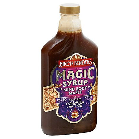 Birch Benders Magic Syrup Mind Body Maple - 13 Oz