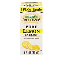 Spice Island All Natural Pure Lemon Extract - 1 Fl. Oz.