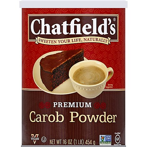 Chatfield Carob Powder - 16 Oz